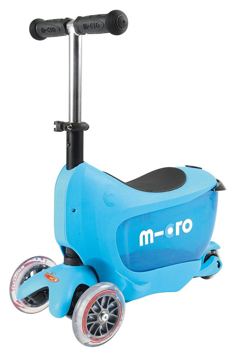 056e17985c2 Micro Mini2go Deluxe koloběžka Micro Mini2go Deluxe koloběžka blue (modrá)  ...